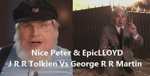 Epic Rap Battles of History - J R R Tolkien vs George R R Martin